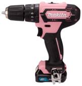 Makita  accu-klopboor/schroefmachine HP333DSAP1 Pink