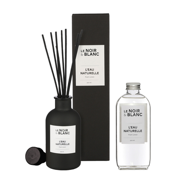 Le Noir & Blanc geurstokjes L'eau Naturelle 200ml