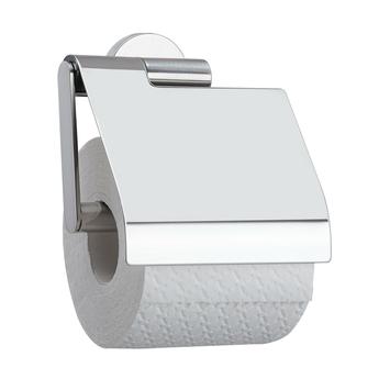 Tiger Boston toiletrolhouder met klep chroom
