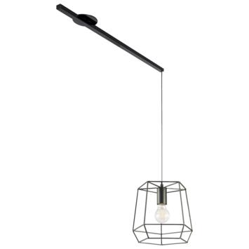 Lightswing ophangsysteem single mat zwart
