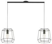 Lightswing ophangsysteem twin mat zwart