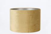 Lampenkap velours goud 40-40-25 cm