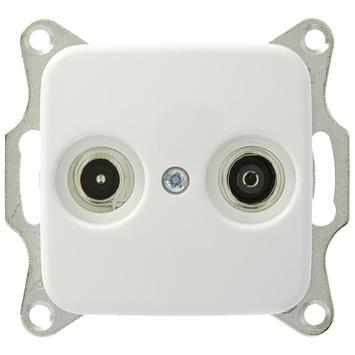 Busch-Jaeger Reflex SI Stopcontact  Coax Wit