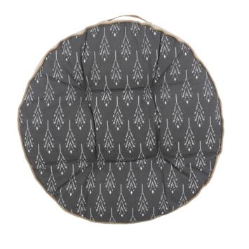 Vloerkussen Dustin 70 cm antraciet