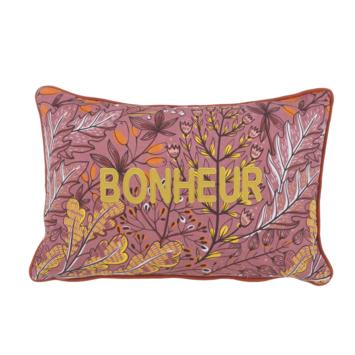 Kussen Bonheur terracotta