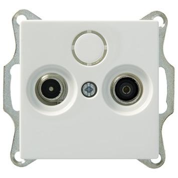 Schneider Electric Merten Stopcontact System M Coax Wit