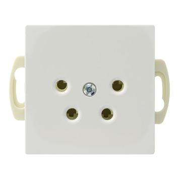Schneider Electric Merten System M stopcontact telefonie wit