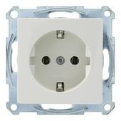 Schneider Electric Merten System M stopcontact geaard wit
