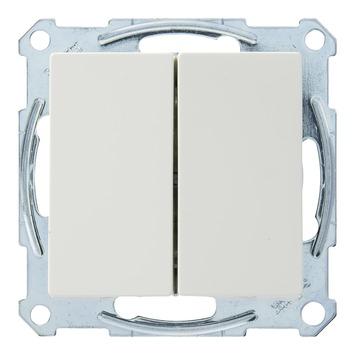 Schneider Electric Merten System M wissel-wisselschakelaar wit