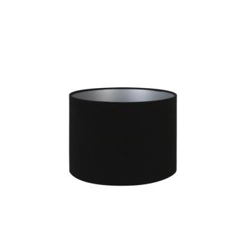 Lampenkap velours zwart 25-25-18 cm