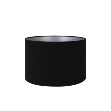 Lampenkap velours zwart Ø35x23cm