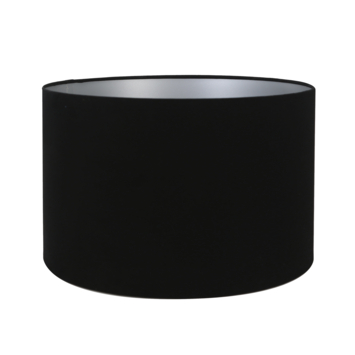 Lampenkap velours zwart Ø40x25cm