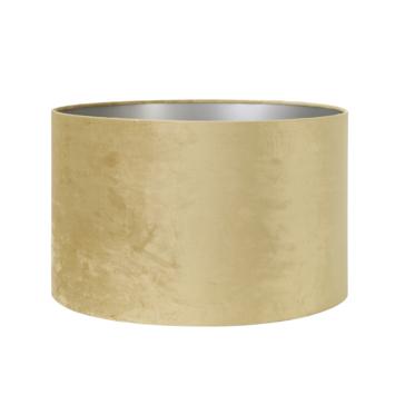 Lampenkap velours goud Ø35x23 cm