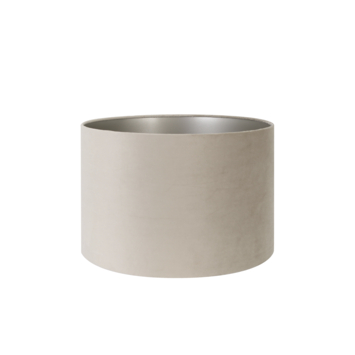 Lampenkap velours zand 35-35-23 cm