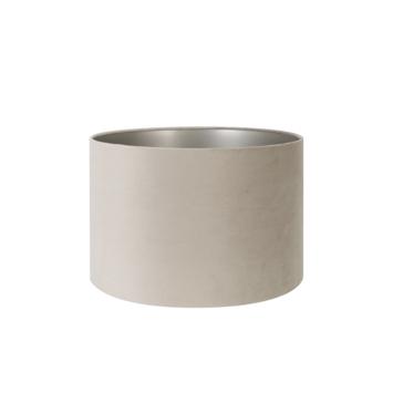Lampenkap velours zand 40-40-25 cm