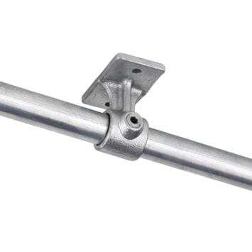 Novidade steigerbuis koppelstuk leuningdrager 27 mm verzinkt