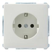 Schneider electric Artec stopcontact enkel geaardndaarde wit