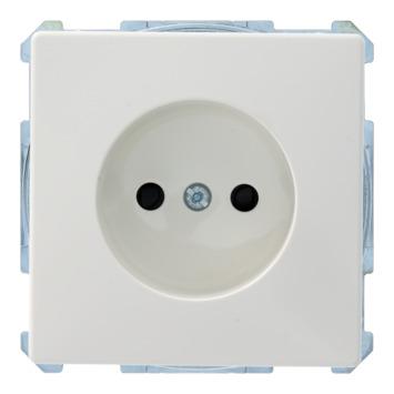 Schneider electric Artec stopcontact enkel wit