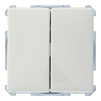 Schneider Electric Artec wissel-wisselschakelaar wit