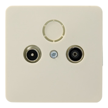 PEHA Standard stopcontact coax crème