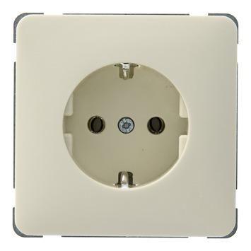 PEHA Standard stopcontact geaard crème