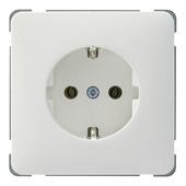 PEHA Standard stopcontact geaard wit