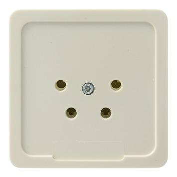 PEHA Standard stopcontact telefonie crème