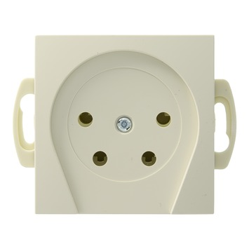 Berker S.1 stopcontact telefonie crème
