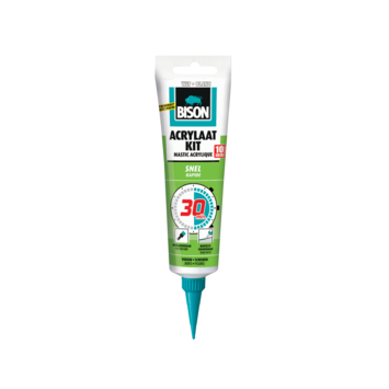 Bison acrylaatkit snel 30 minuten wit hangtube 150 ml