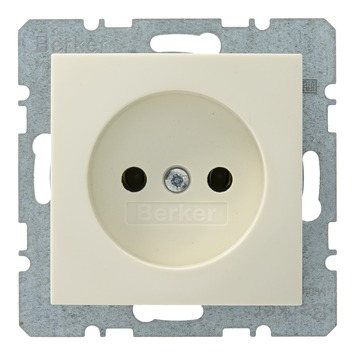 Berker S.1 stopcontact crème
