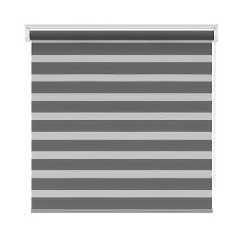 KARWEI luxe roljaloezie antraciet (4502) 140 x 210 cm (bxh)