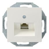 Siemens Delta i-system stopcontact telefoon modulair wit