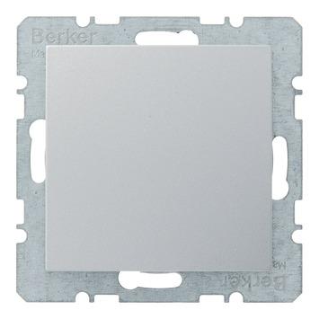 Berker B.1-B.3-B.7 Afdekplaat Aluminium