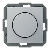 Berker B.1-b.3-b.7 dimmer gloei-halogeenlamp 60-400w aluminium