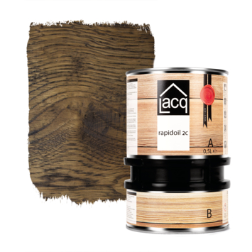 Lacq Rapidoil 2C black 500 ml