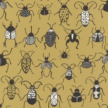 Claas vliesbehang insecten oker (dessin 552966)