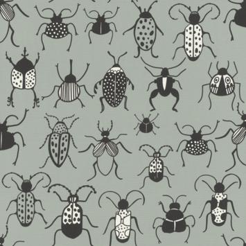 Claas vliesbehang insecten grijs (dessin 552973)