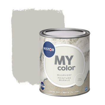 Histor My Color muurverf extra mat new chalk 1 liter