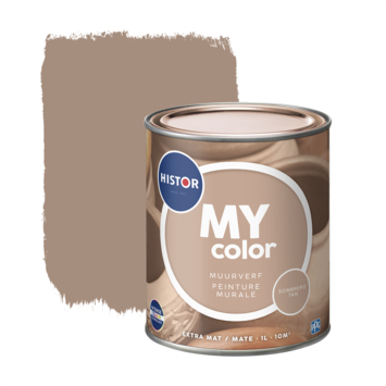Histor My Color muurverf extra mat sombrero tan 1 liter