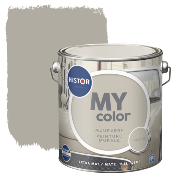 Histor My Color muurverf extra mat intuitive 2,5 liter