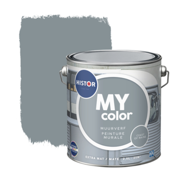 Histor My Color muurverf extra mat coast of m. 2,5 liter