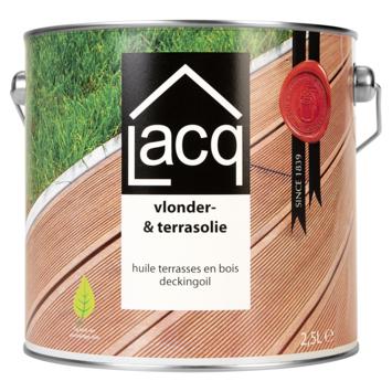 Lacq vlonder&terras olie naturel 2,5 liter