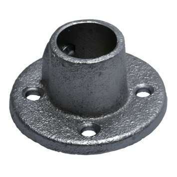 In de dag steun gordijnroede Industrieel metaal