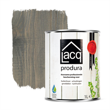 Lacq Produra buitenbeits transparant dark grey mat 1 liter