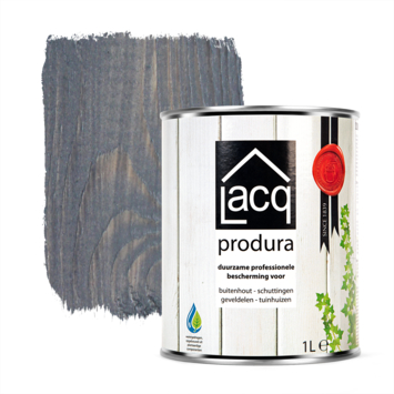 Lacq Produra buitenbeits transparant anthracite mat 1 liter