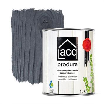 Lacq Produra buitenbeits transparant black mat 1 liter