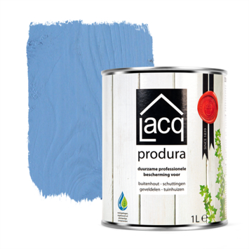 Lacq Produra buitenbeits transparant blue clay mat 1 liter