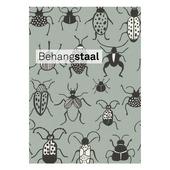 Behangstaal Claas vliesbehang insecten grijs (dessin 552973)
