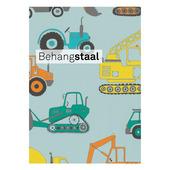 Behangstaal Claas vliesbehang autos blauw (dessin 553260)