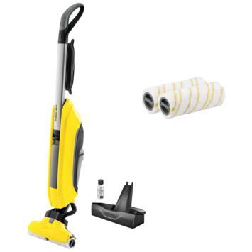 Kärcher FC5 Floor Cleaner incl set extra microvezel rollen